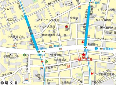 千代田区麹町の賃貸オフィス・貸事務所 半蔵門ビル