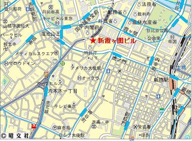 千代田区霞ヶ関の賃貸オフィス・貸事務所 新霞が関ビルディング