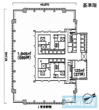千代田区丸の内の賃貸オフィス・貸事務所 丸の内ビルディング