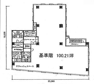 千代田区三崎町の賃貸オフィス・貸事務所 TUGーIビル