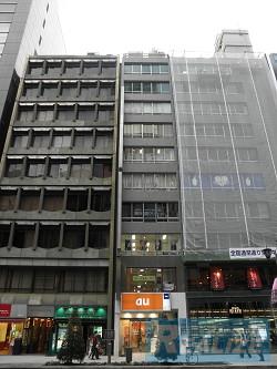 中央区銀座の賃貸オフィス・貸事務所 銀栄ビル