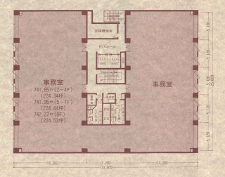 中央区新川の賃貸オフィス・貸事務所 NMF茅場町ビル