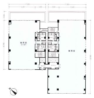 中央区新川の賃貸オフィス・貸事務所 東茅場町有楽ビル