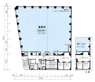 中央区新川の賃貸オフィス・貸事務所 アクロス新川ビルアネックス