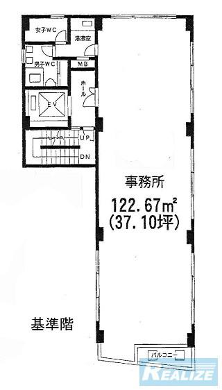 中央区築地の賃貸オフィス・貸事務所 アーバンメイツビル