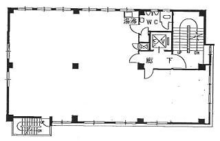 中央区明石町の賃貸オフィス・貸事務所 明図ビル