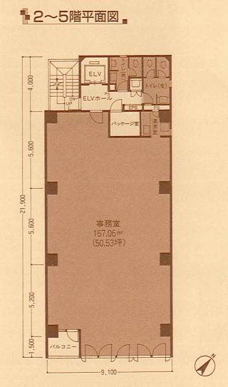中央区東日本橋の賃貸オフィス・貸事務所 東日本橋EXビル