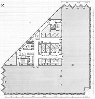 港区虎ノ門の賃貸オフィス・貸事務所 城山トラストタワー