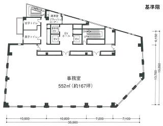 港区虎ノ門の賃貸オフィス・貸事務所 虎ノ門清和ビル