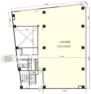 港区浜松町の賃貸オフィス・貸事務所 KDX浜松町センタービル