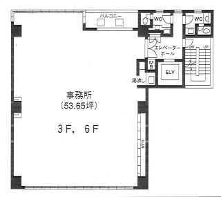 台東区台東の賃貸オフィス・貸事務所 KHビル