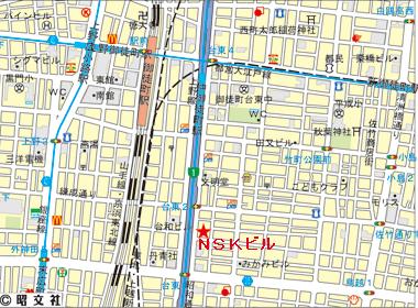 台東区台東の賃貸オフィス・貸事務所 NSKビル