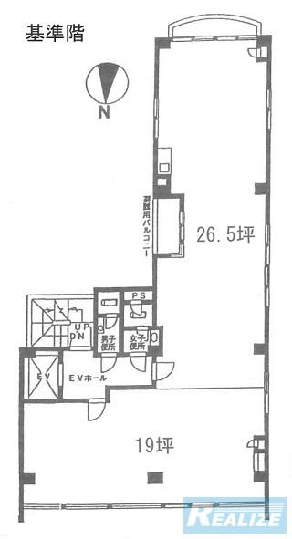 台東区柳橋の賃貸オフィス・貸事務所 プレリー柳橋ビル