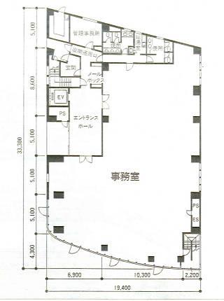 渋谷区代々木の賃貸オフィス・貸事務所 TSビル