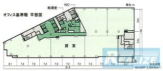渋谷区代々木の賃貸オフィス・貸事務所 小田急サザンタワー