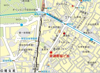 渋谷区神宮前の賃貸オフィス・貸事務所 JPR原宿ビル