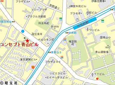 渋谷区神宮前の賃貸オフィス・貸事務所 コンセプト青山ビル