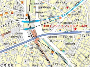 渋谷区渋谷の賃貸オフィス・貸事務所 東建インターナショナルビル本館