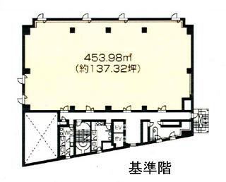 品川区東五反田の賃貸オフィス・貸事務所 NMF高輪ビル
