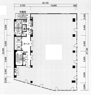 品川区西五反田の賃貸オフィス・貸事務所 TK五反田ビル