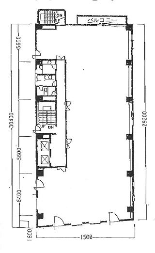 品川区西五反田の賃貸オフィス・貸事務所 第2オークラビル