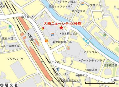 品川区大崎の賃貸オフィス・貸事務所 大崎ニューシティ3号館