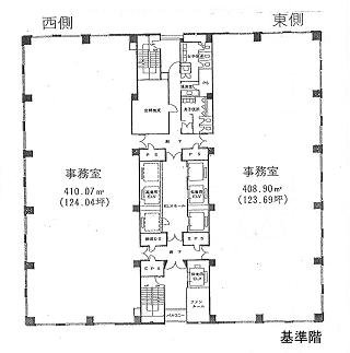 品川区大崎の賃貸オフィス・貸事務所 大崎ニューシティ4号館