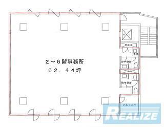 江東区佐賀の賃貸オフィス・貸事務所 アイアンクオータビル