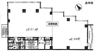 文京区関口の賃貸オフィス・貸事務所 山水ビル