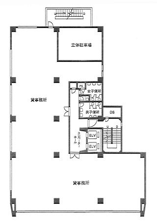 文京区湯島の賃貸オフィス・貸事務所 湯島ビル