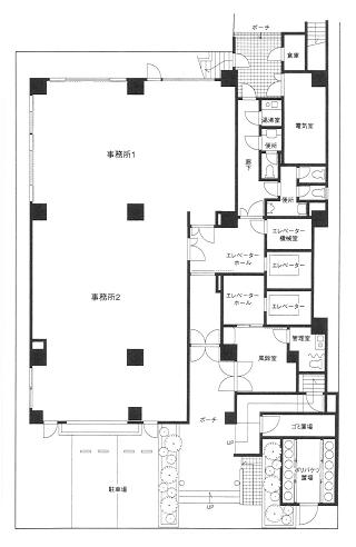 文京区湯島の賃貸オフィス・貸事務所 湯島ヒダビル