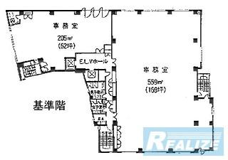 豊島区南池袋の賃貸オフィス・貸事務所 ホウエイビル