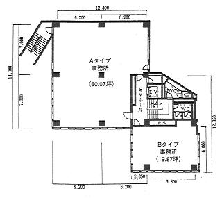 豊島区南池袋の賃貸オフィス・貸事務所 山の手ビル東館