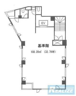 目黒区目黒の賃貸オフィス・貸事務所 第2アトモスフィア青山