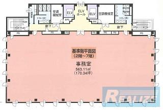 板橋区高島平の賃貸オフィス・貸事務所 西台NCビル