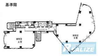荒川区東日暮里の賃貸オフィス・貸事務所 日暮里駅前中央ビル