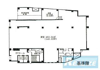 中野区中央の賃貸オフィス・貸事務所 朝日生命新中野ビル