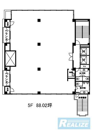 中野区弥生町の賃貸オフィス・貸事務所 ツナシマ第3ビル
