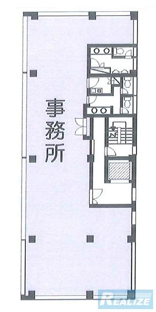 中野区弥生町の賃貸オフィス・貸事務所 川本ビル