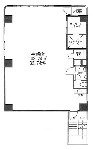 江戸川区西葛西の賃貸オフィス・貸事務所 関寅ビル第3