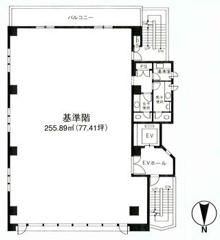 江戸川区東葛西の賃貸オフィス・貸事務所 新店ビル