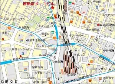 新宿区西新宿の賃貸オフィス・貸事務所 西新宿Kー1ビル