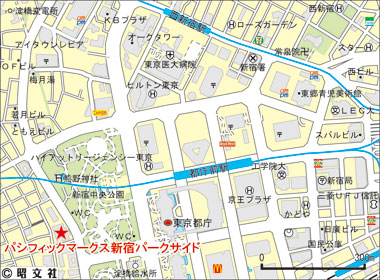 新宿区西新宿の賃貸オフィス・貸事務所 パシフィックマークス新宿パークサイド