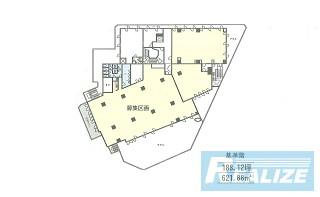 新宿区西新宿の賃貸オフィス・貸事務所 ストーク新宿