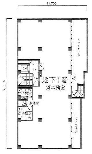 新宿区新宿の賃貸オフィス・貸事務所 中島ビル