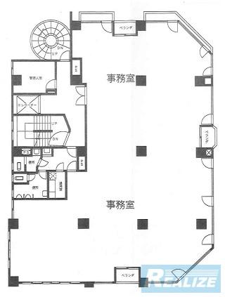 新宿区新宿の賃貸オフィス・貸事務所 溝呂木第2ビル