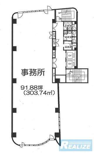 新宿区新宿の賃貸オフィス・貸事務所 KDX新宿286ビル