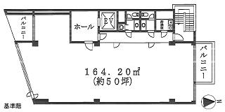 新宿区歌舞伎町の賃貸オフィス・貸事務所 HANROKUビル