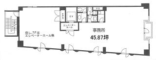 新宿区歌舞伎町の賃貸オフィス・貸事務所 新宿日章ビル