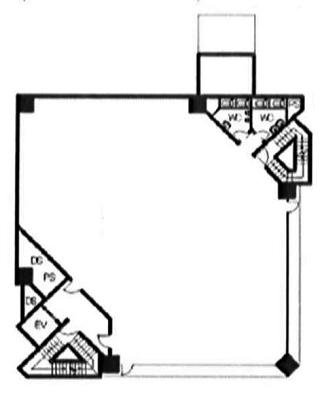 新宿区市谷八幡町の賃貸オフィス・貸事務所 大手町建物市ヶ谷ビル